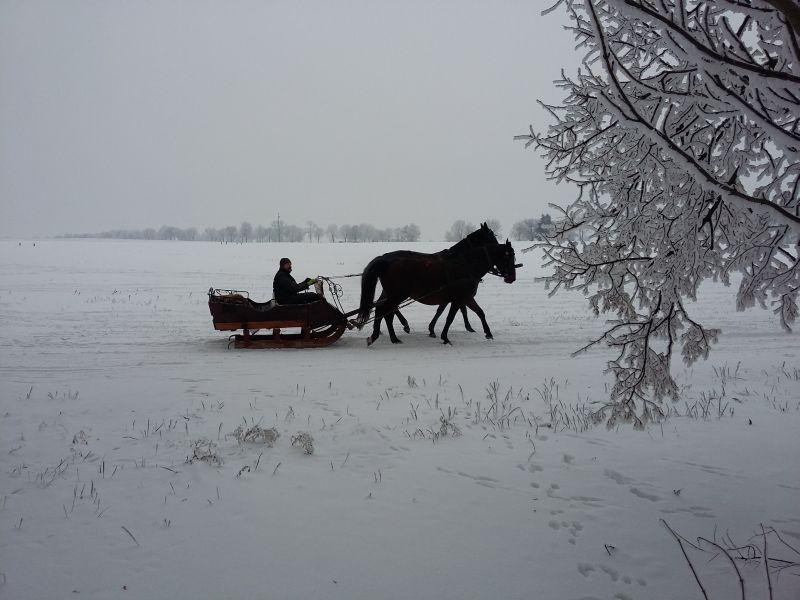 RZD Werbkowice zimą