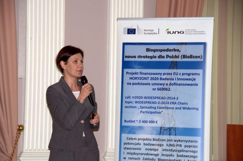 Konferencja pt.: Biogospodarka w rolnictwie