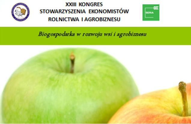 XXIII Kongres Stowarzyszenia Ekonomistów Rolnictwa i Agrobiznesu