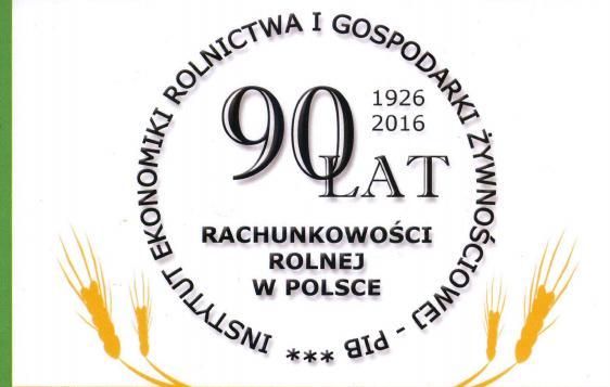90 lat rachunkowości rolnej w Polsce