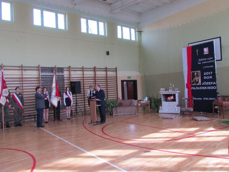 Dzień Patrona w ZSCKR w Okszowie