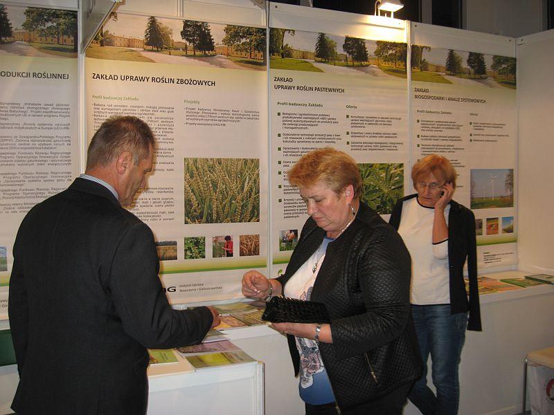IUNG PIB na XXVI Krajowej Wystawie Rolniczej