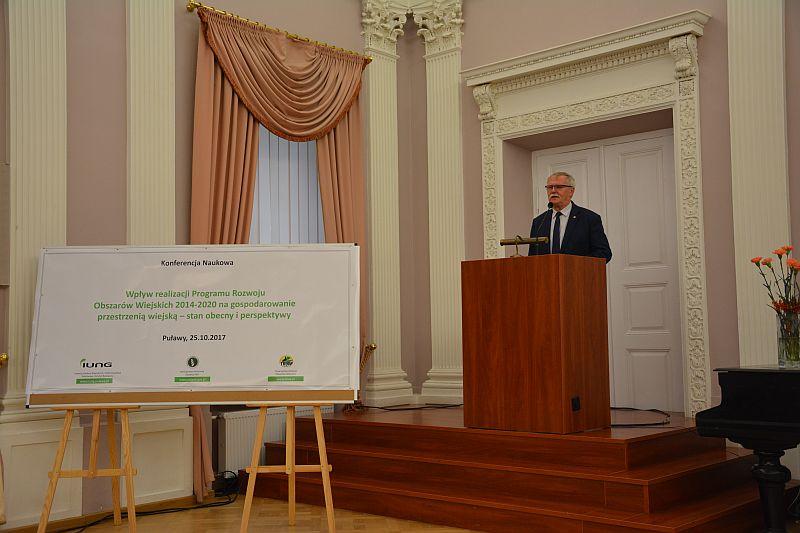 """Konferencja """"Wpływ realizacji PROWR 2014-2020 na gospodarowanie przestrzenią wiejską"""""""