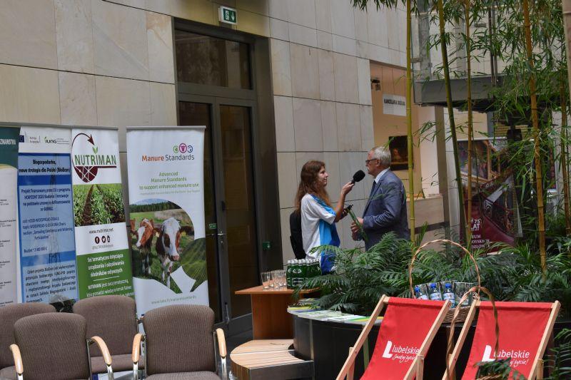"""IUNG-PIB gościem """"Środy z Ambasadorem"""" w UM Województwa Lubelskiego"""