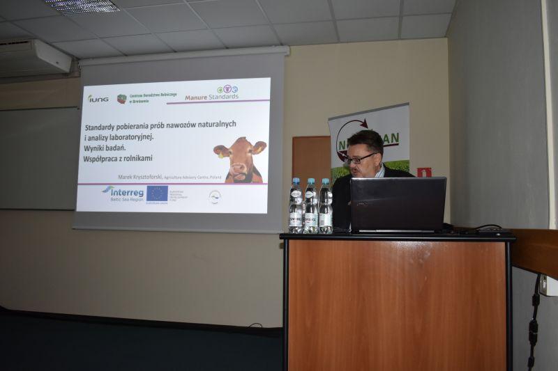 Spotkanie kończące projekt Manure Standards